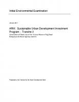 Initial Environmental Examination-Tranche 5.