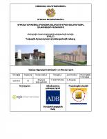Շրջակա միջավայրի նախնական ուսումնասիրություն-Դավթաշեն-Աշտարակ մայրուղի ճանապարհային հանգույց