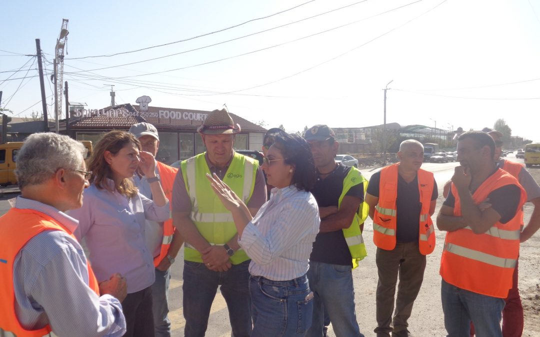 Working Visit to Babajanyan-Ashtarak Road Link
